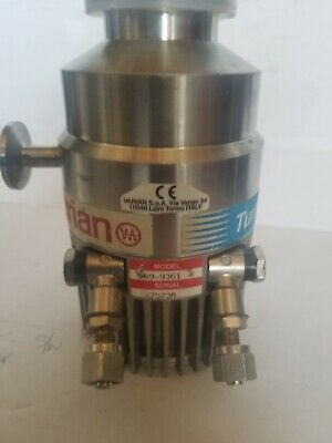 Varian Turbo -v 70 Vacuum Pump Used Condition