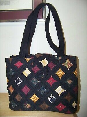 Donna Sharp Womens Tote Bag Quilted Purse