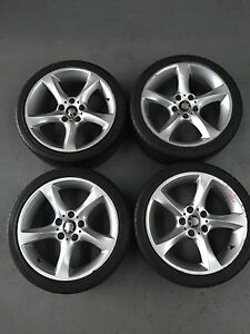 FOR SALE: 4 X 2002 BMW E36 318I MAG WHEELS WITH 225/40ZR18 TYRES! Craigieburn Hume Area Preview