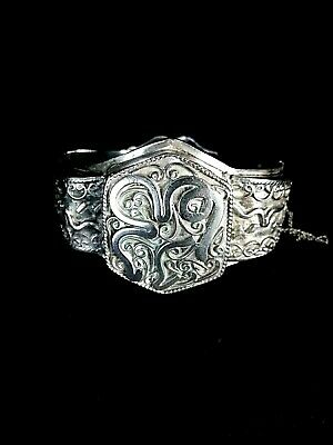 Antique Bracelet Silver. Jewelry Berbère. Morocco Early Xx Th