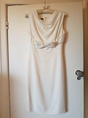 Alexander McQueen Ivory shift dress 44