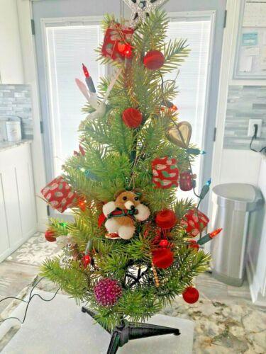 Vintage Woolworths 1960s Decorations Christmas Tree Holiday Lights Mid Century