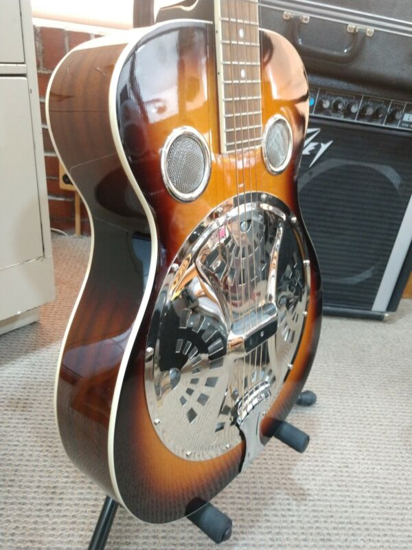 Regal Resonator Guitar RD-40V (Vintage Sunburst)