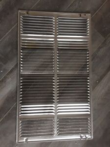 Air conditioner vent grill