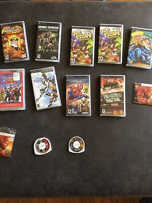 PSP Games and Movies for Sell!!!