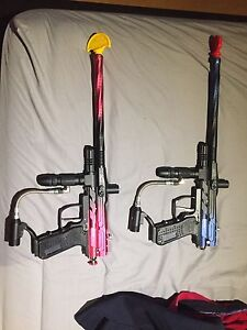 Paintball speedball gun