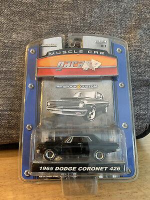 GREENLIGHT MUSCLE GARAGE 1965 DODGE CORONET 426