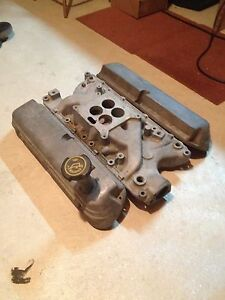 260/289/302 Ford intake & valve covers