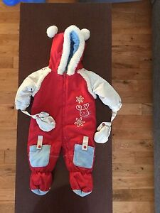 One piece snowsuit