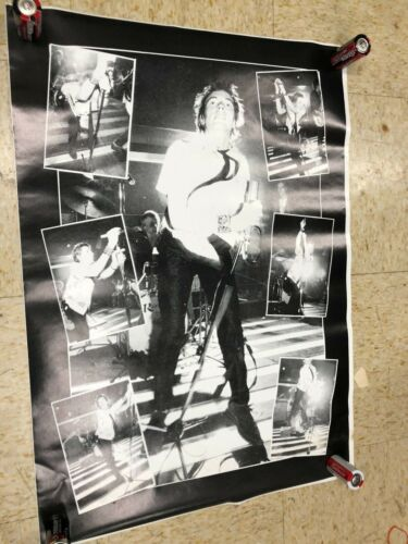 JOHNNY ROTTEN SEX PISTOLS POSTER VINTAGE UK PUNK LEGEND