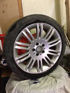 "Mags Rims 18"" Mercedes Benz with winter & summer tires"