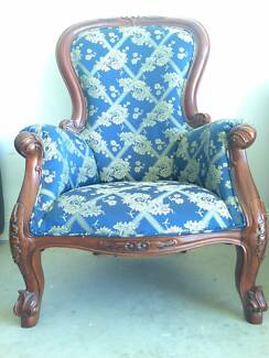 Antique Arm Chair. $550.00. Waurn Ponds Part 94