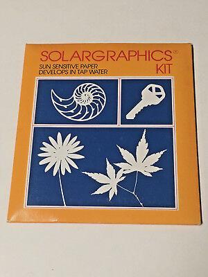 Solargraphics Kit - Sun sensitive Paper - 1984 - Sealed & Excellent Shape](Sun Sensitive Paper)