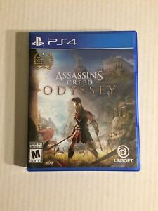 PS4 Assassins creed odyssey video game