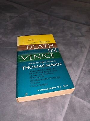 Death in Venice: And Seven Other Stories by Thomas Mann (Death In Venice And Seven Other Stories)