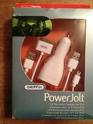 Griffin Technology Powejolt Car Charger For Ipod Usb To D...