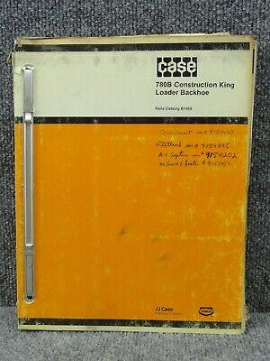 Oem Factory Case 780b Construction King Loader Backhoe Parts Catalog Manual