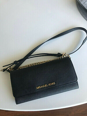 Michael Kors Jet Set Travel Wallet On A Chain Style 32F4GTVC9L