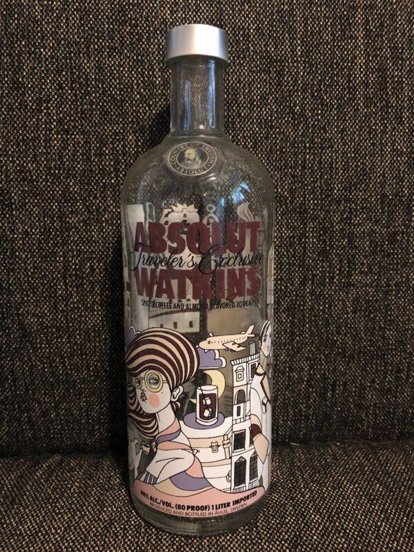 Absolut Watkins ART Bottle Limited Edition Traveler