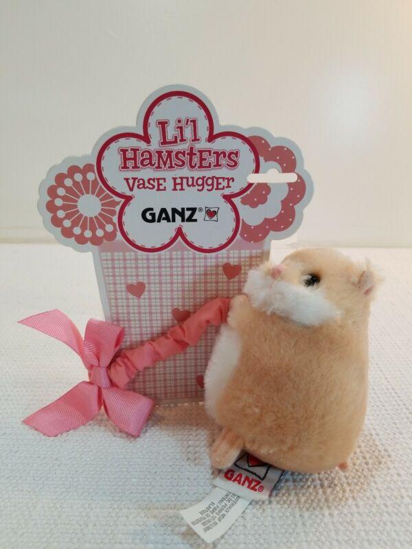 Lil Hamsters Vase hugger Ganz  cute little hamster (brown)
