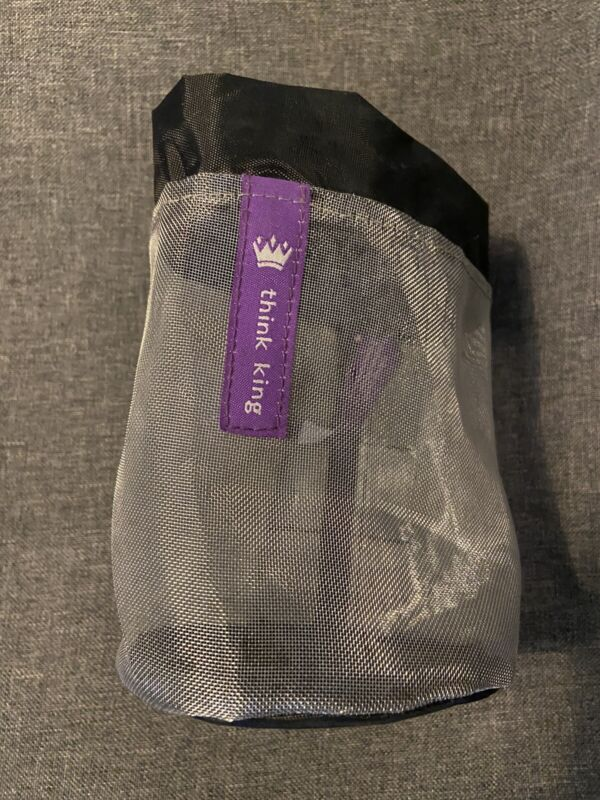 Think King Soft Buggy Cup Stroller Cupholder Attachment Drawstring