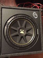 """Kicker 12"""" Subwoofer in box Brighton East Bayside Area Preview"""