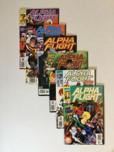 Alpha Flight Vol 2 Lot: 11-16 Marvel 1998 1st Cameo of Big Hero 6