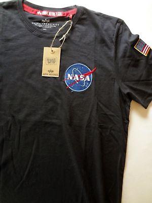 Top Angebot! ++ ALPHA INDUSTRIES *NASA* T-Shirt ++ Size L ++  ()