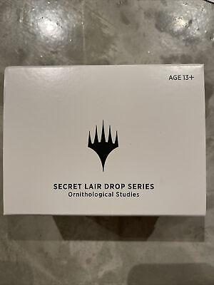Sealed MTG Secret Lair Drop Series (Ornithological Studies)