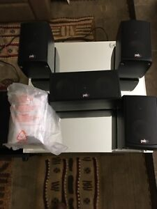 PSB 5.1 surround sound system, Model Alpha LR 1