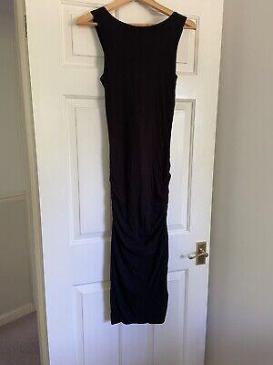 James Perse Long Black Dress Size S