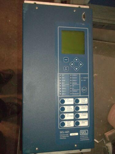 SCHWEITZER 04215415XB0X4V6446XXX SEL-421 PROTECTION AUTOMATION CONTROL (Q1)