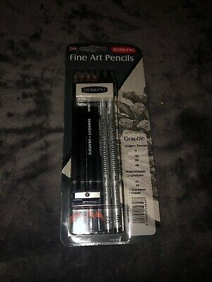 Derwent Graphic - Derwent Graphic 8 Fine Art Graphite Pencils Set - Derwent