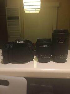 Canon EOS 700D Twin Lense Kit with Carry Bag Lower Plenty Banyule Area Preview