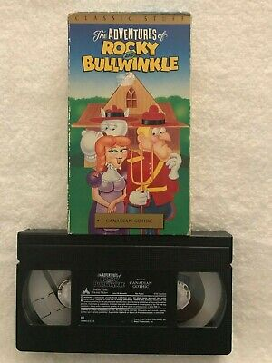 The Adventures of Rocky and Bullwinkle: Canadian Gothic - VHS Movie -