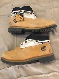 Timberland boots Roll Top size 10