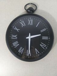 Medium Sized Pocket Watch shaped Wall Clock