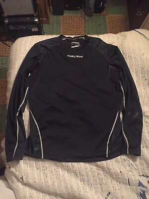 Bauer Core 375 Long Sleeve Compression Hockey Top Adult Small