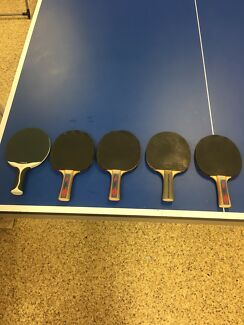 Wanted: Table tennis bats