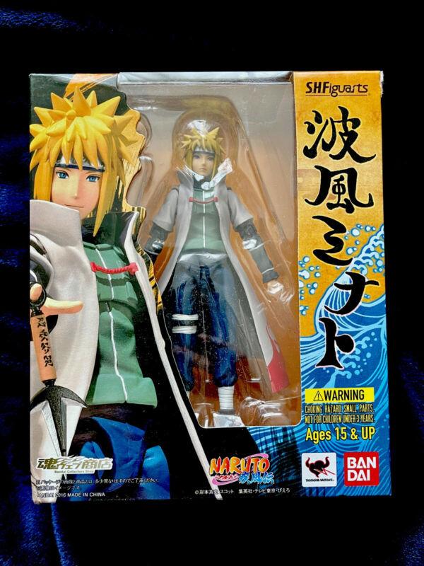 Minato Namikaze SH Figuarts Naruto Shippuden Bandai Authentic Sealed Tamashii