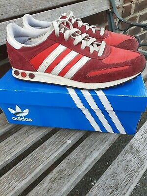 Adidas L.A Trainers Red UK Size 9.5 will come in adidas box