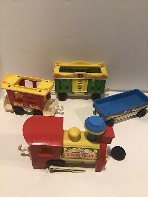 VTG Fisher Price Circus Train 991