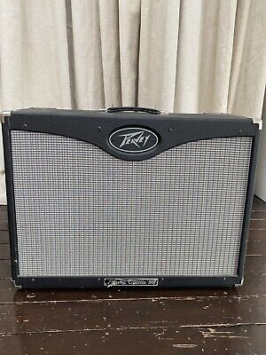 Peavey Classic 50/212 valve Guitar Amp -Blue marvel speakers with Foot Switch