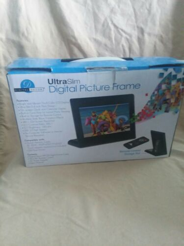 Digital Designs Ultra Slim Digital Picture Frame. 7 Inches With Remote Control - $17.20