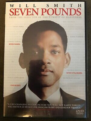 Seven Pounds 2008 - Seven Pounds (DVD, 2008) Will Smith