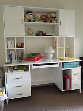 NEED 2 SELL: White Combined Desk and Hutch Ormeau Gold Coast North Preview