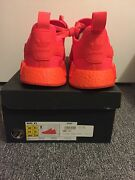 ADIDAS NMD SOLAR RED SIZE 10 RETAIL Melbourne CBD Melbourne City Preview