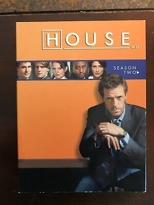 Dr House Md Dvd Set Season 2 Dr  House Tv Excellent Condition  Fast Shipping