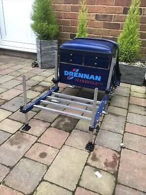 Drennan Team England Seatbox - Platform / Match / Canal / Carp Fishing (w90)