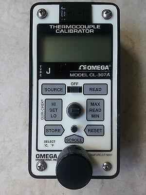 Omega Thermocouple Calibrator Cl-307 A